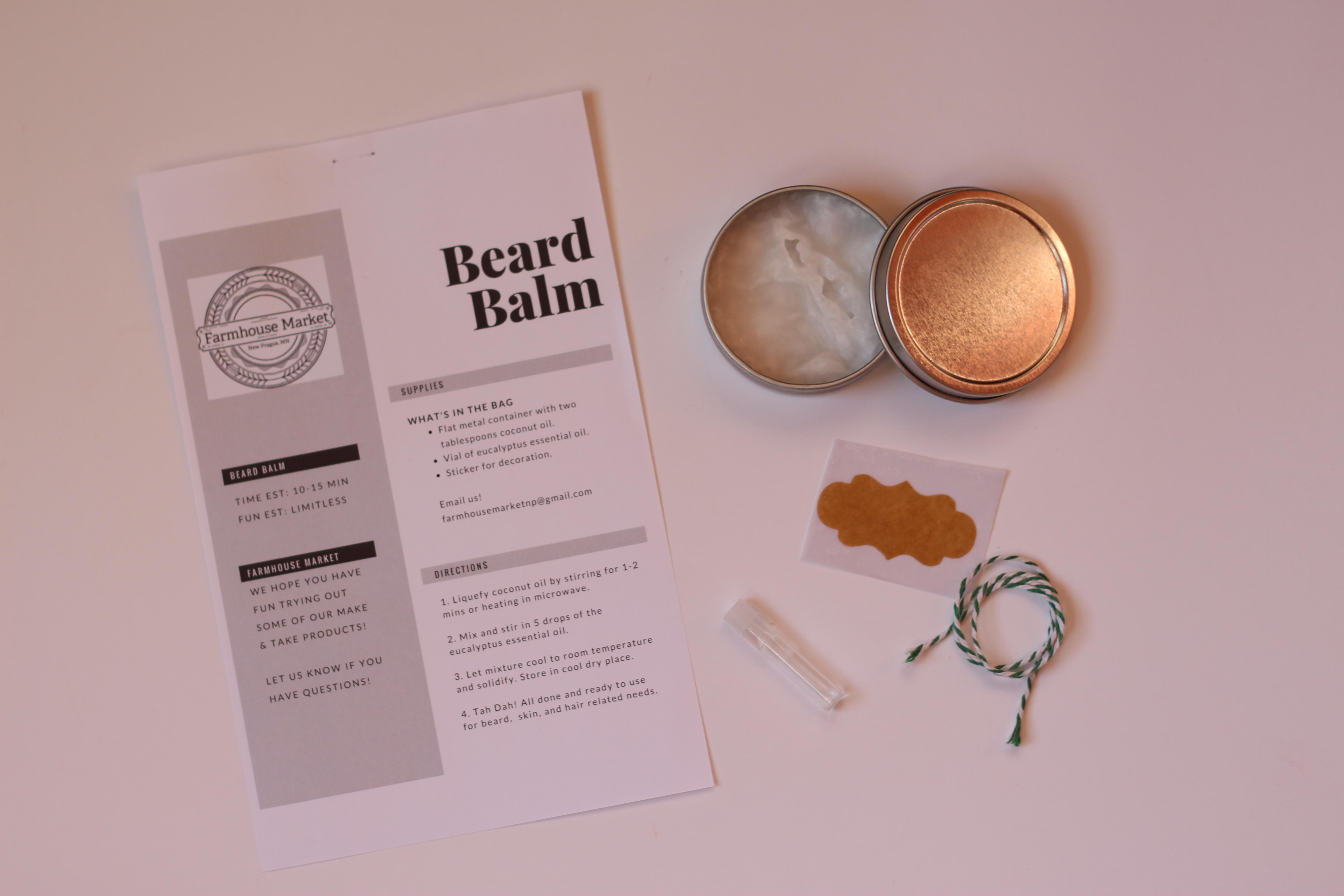 Make-Your-Own Beard Balm Kit